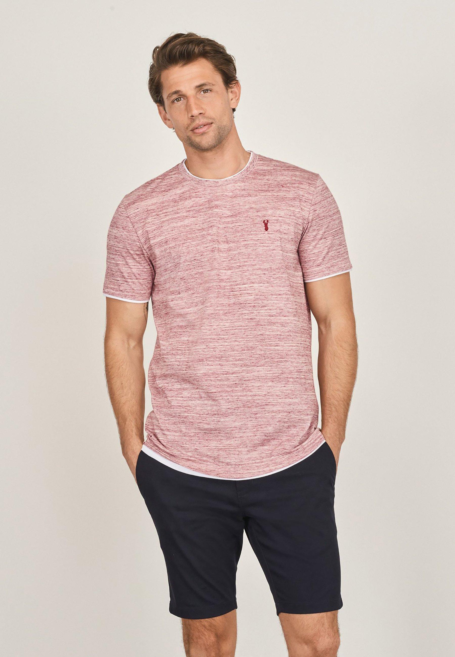 Hombre MOCK LAYER  - Camiseta estampada
