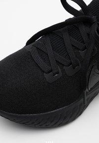 Nike Performance - EPIC PRO REACT FLYKNIT - Nøytrale løpesko - black/white - 5