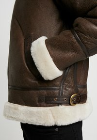 Schott - Leather jacket - brown - 6
