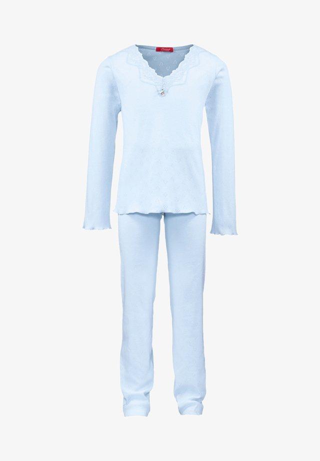 POINTELLE - Pyjama set - blue
