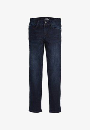 MIT USED-EFFEKTEN - Straight leg jeans - dark blue