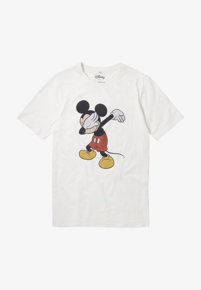 DISNEY MICKEY - T-shirt print - ecru