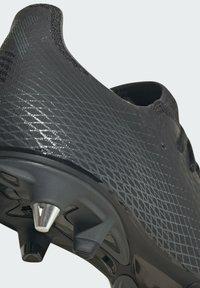 adidas Performance - X GHOSTED.3 SOFT GROUND - Fotbollsskor fasta dobbar - black - 6
