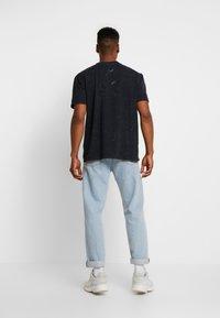 Topman - DESTINATION TEE - Print T-shirt - black - 2