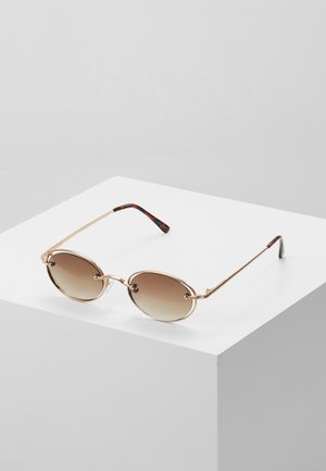 Sunglasses - pale gold-coloured/brown