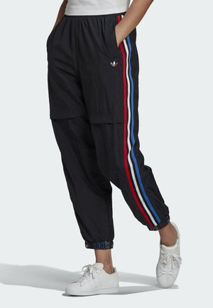 JAPONA - Tracksuit bottoms - black