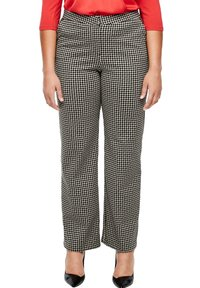Triangle - Chinos - black houndstooth - 0