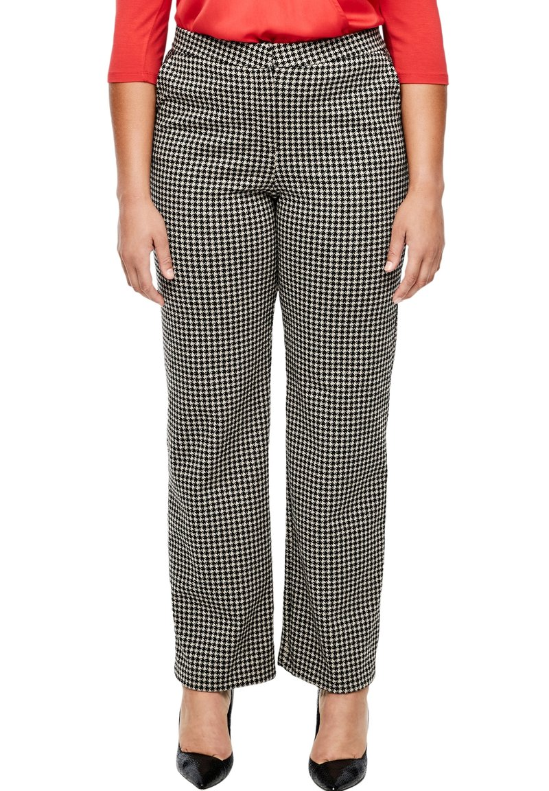 Triangle - Chinos - black houndstooth