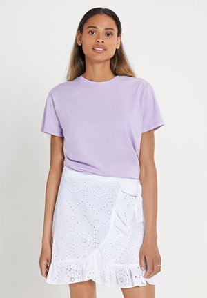 TARIFA SOLID - Print T-shirt - pastel lilac purple