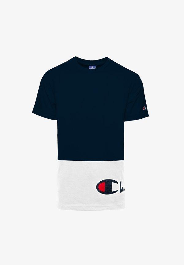 Champion Rochester T-shirt z nadrukiem - blue/granatowy Odzież Męska KJZB