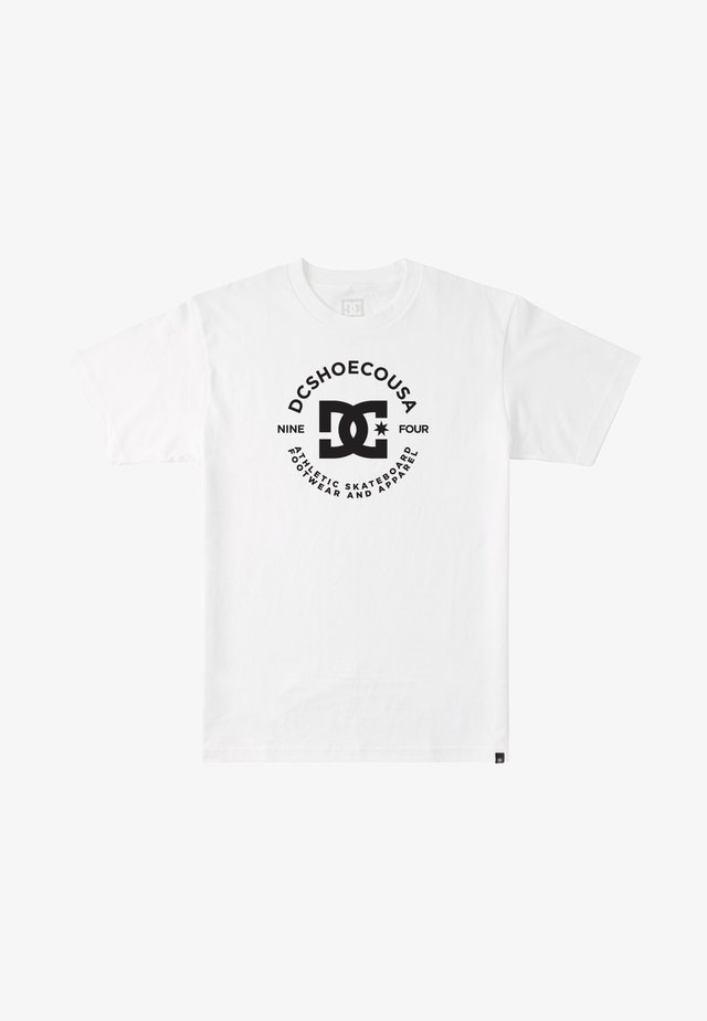 STAR PILOT - T-shirt print - white / black
