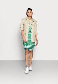 Esqualo - DRESS GREEN GARDEN - Jerseykjoler - print - 1