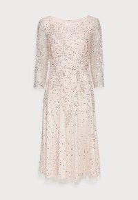 Adrianna Papell - BEADED DRESS - Cocktail dress / Party dress - light pink - 4