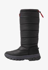 Hunter ORIGINAL - WOMEN'S ORIGINAL INSULATED TALL - Zimní obuv - black - 1