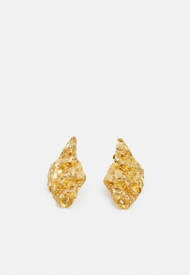 MELIES SYMMETRICAL EARRINGS - Øreringe - gold-coloured