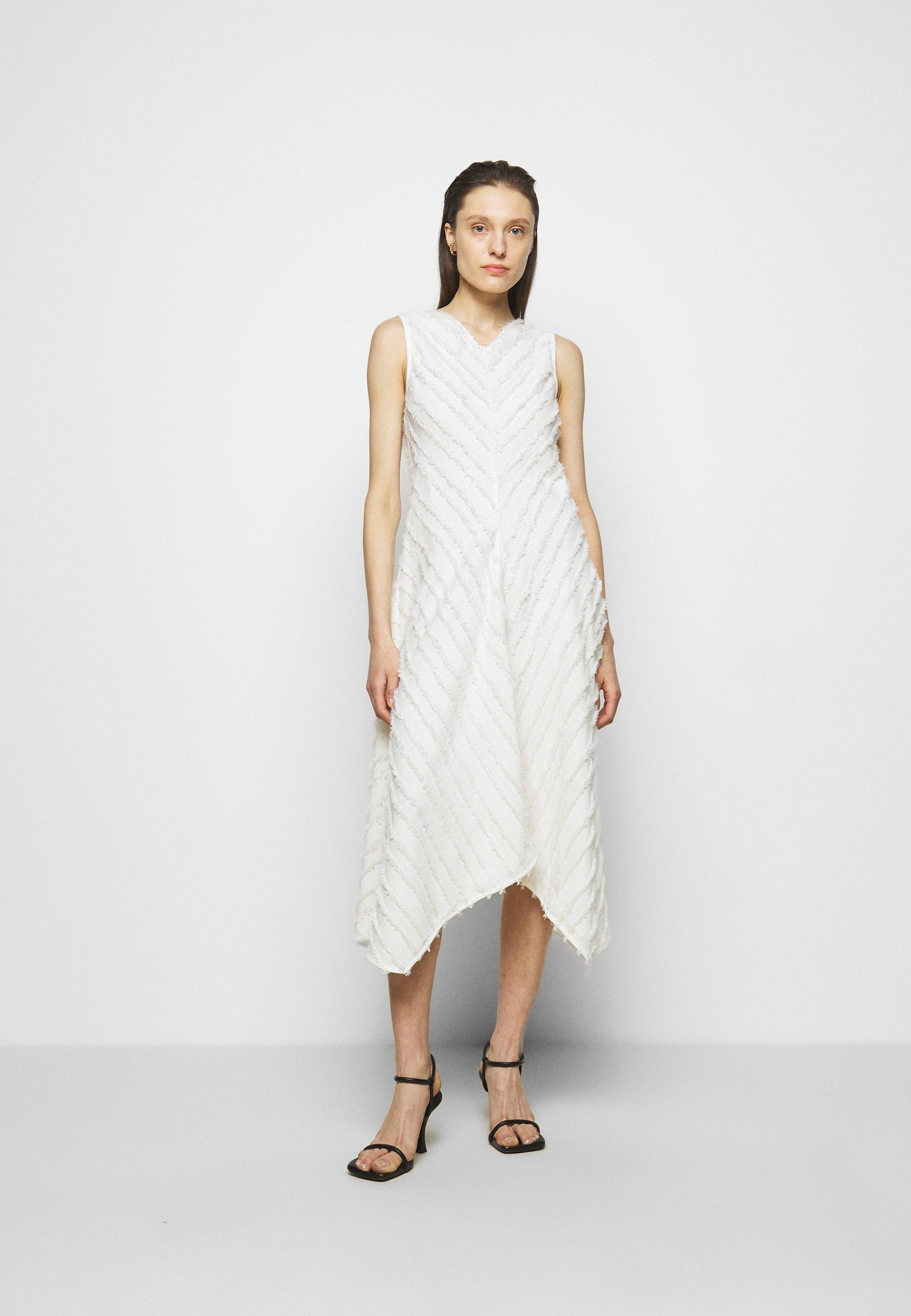 Femme FRINGE FIL COUPE DRESS - Robe de soirée