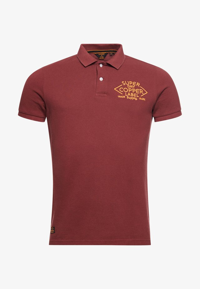 Poloshirt - russet brown