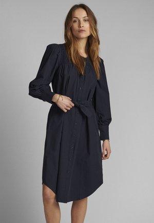 NUSUMMER - Shirt dress - dark sapphire