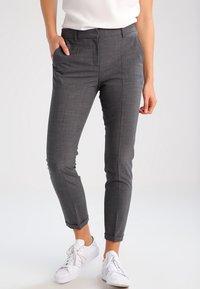 Karen by Simonsen - SYDNEY  - Trousers - grey melange - 0