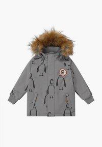 Mini Rodini - PENGUIN - Winter coat - grey - 0