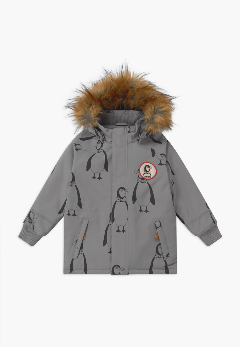 Mini Rodini - PENGUIN - Winter coat - grey