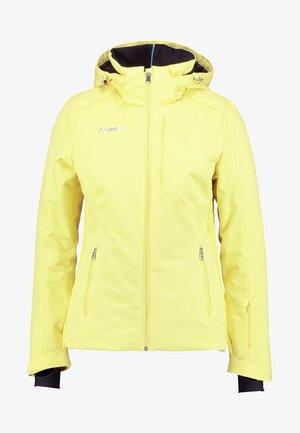 MAIKO  - Kurtka narciarska - light yellow