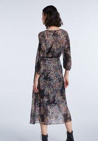 SET - Day dress - black violett - 2