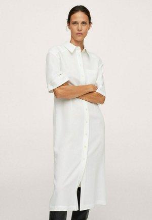 Shirt dress - blanc cassé