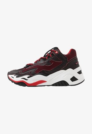 Sneakers basse - black/red