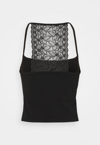Pieces - PCNANLA CROPPED 2 PACK - Top - black - 2