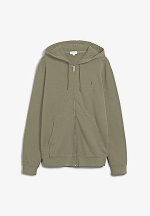 ZAAC - Sweater met rits - dark sage