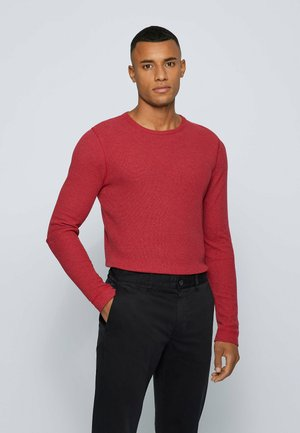 TEMPEST - Long sleeved top - red
