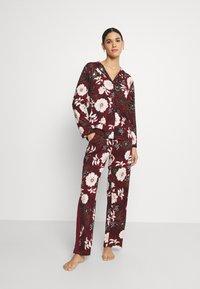 s.Oliver - SET - Pyjamas - bordeaux - 0