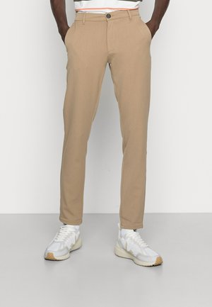 OLLIE PANTS - Chino - tobacco brown