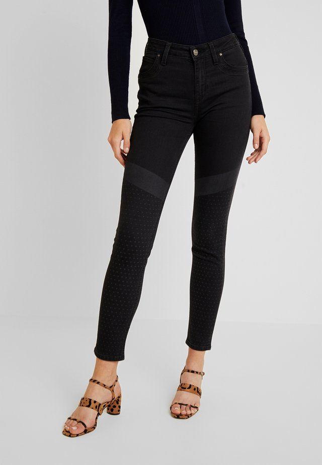 SCARLETT HIGH BODY OPTIX - Jeans Skinny Fit - base shade