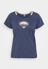 Roxy - Print T-shirt - mood indigo - 0