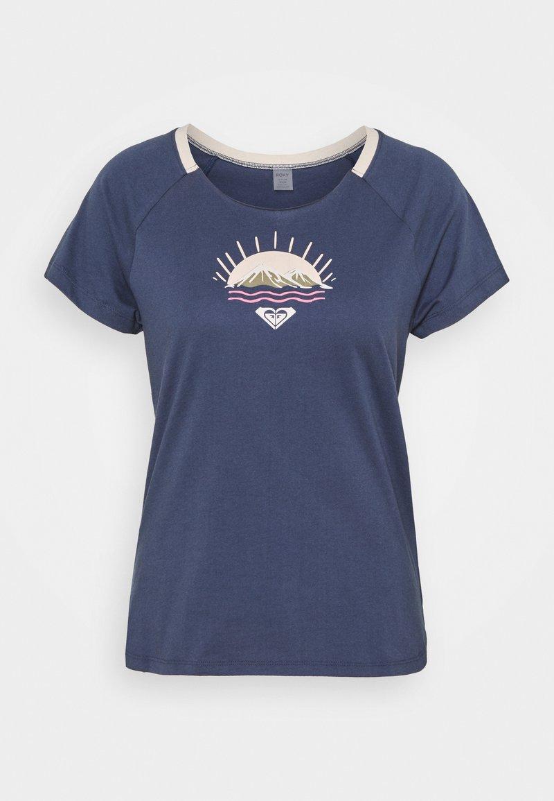 Roxy - Print T-shirt - mood indigo