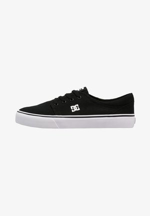 TRASE - Skate shoes - black/white
