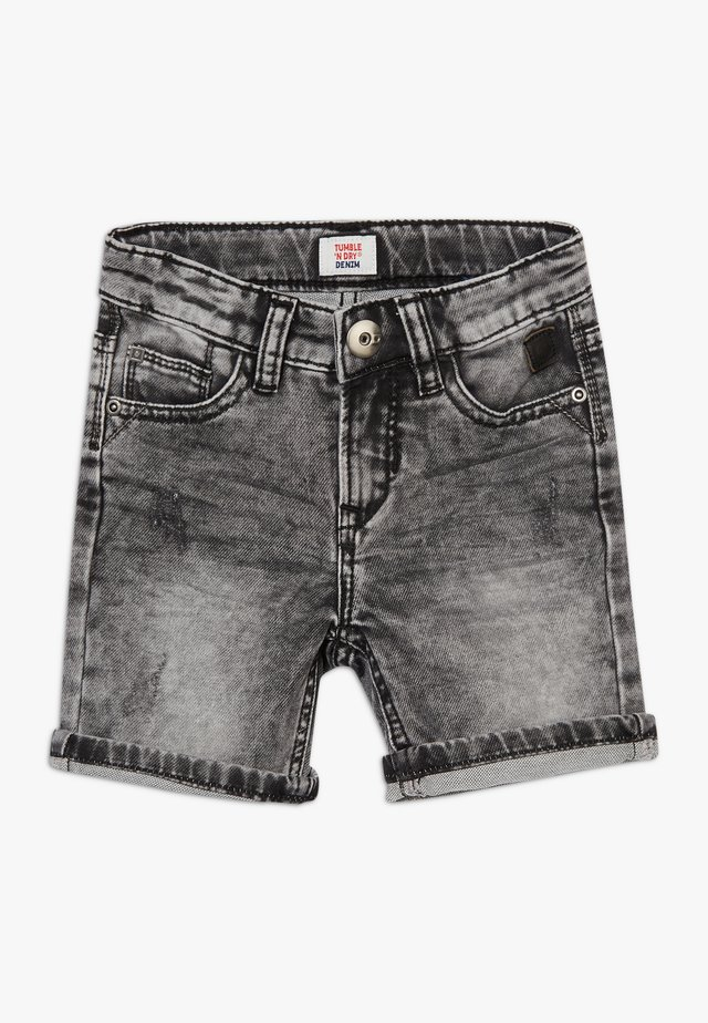 GALIP - Short en jean - black