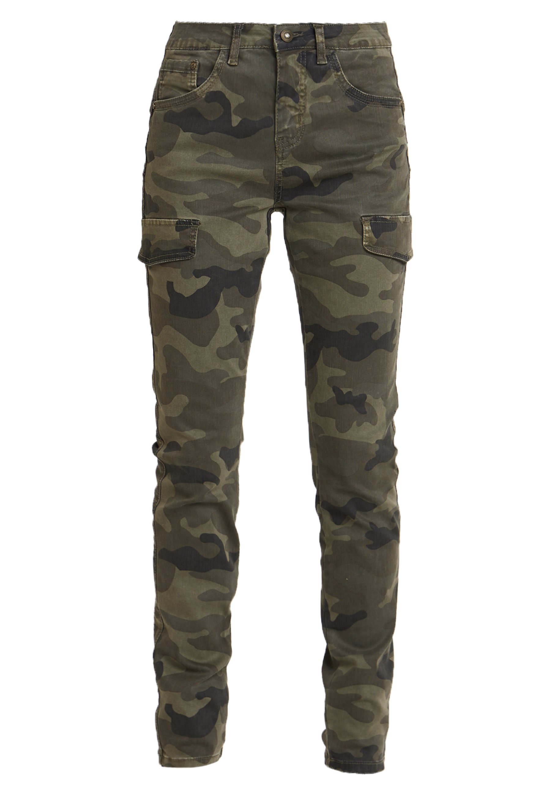 Cream ANINA CARMU PANTS SHAPE - Jeans Slim Fit - sea green -  4B0bw