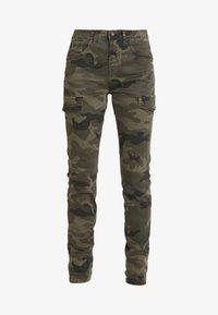 Cream - ANINA CARMU PANTS SHAPE - Slim fit jeans - sea green - 3