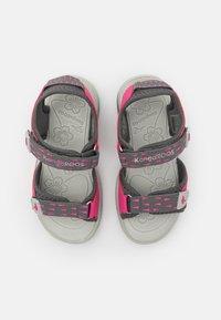 KangaROOS - K-BLONDE - Walking sandals - steel grey/fandango pink - 3