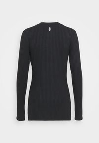 Free People - BLISSED OUT LONG SLEEVE - Longsleeve - black - 6