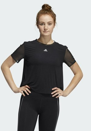 SEASONAL DANCE T-SHIRT - Print T-shirt - black