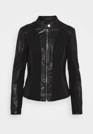 CLOTILDE JACKET - Veste en similicuir - jet black
