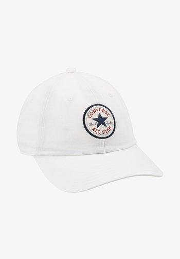 TIPOFF CHUCK BASEBALL UNISEX - Gorra - white