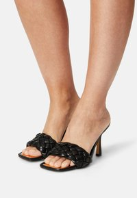 River Island Wide Fit - Heeled mules - black - 0