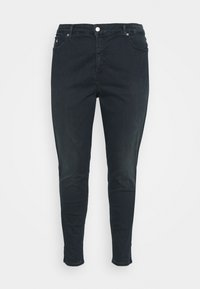 Calvin Klein Jeans Plus - HIGH RISE ANKLE - Skinny džíny - dark-blue denim - 5