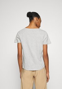 Anna Field - Basic T-shirt - mottled light grey - 2