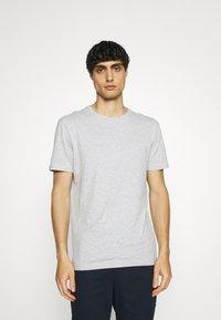 Pier One - 7 PACK - T-shirt - bas - dark blue/black/white - 1